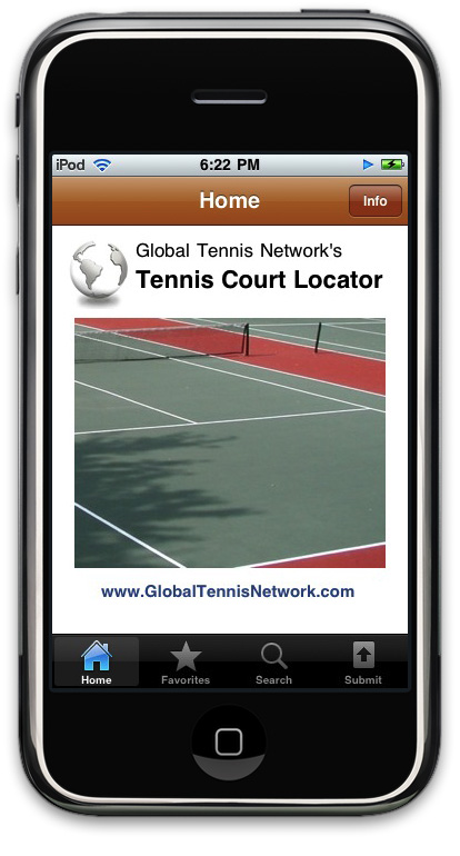 Tennis Court Locator