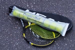 Don't put up with soft tennis Balls . Pressureball maintains and revives pressure